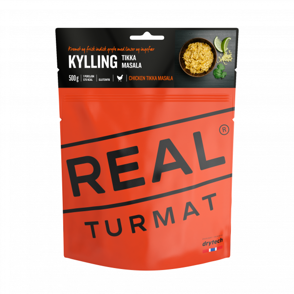 REAL TURMAT Kylling tikka masala