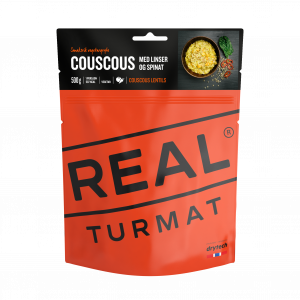 REAL TURMAT Couscous med linser og lime (VEGETAR)