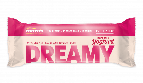 Maxim Dreamy Yoghurt & Raspberry 12x55g
