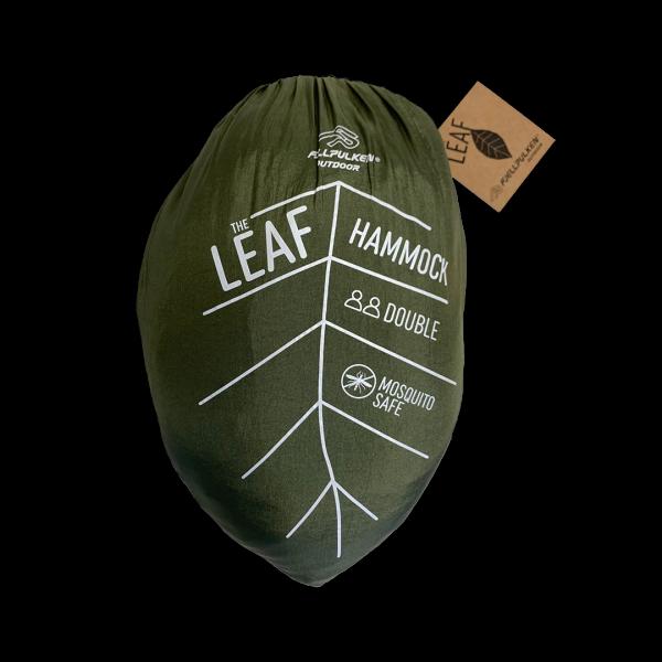 Fjellpulken Leaf hengekøye dobbel med nett