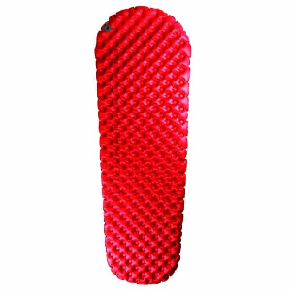 SEA TO SUMMIT AIRCELL MAT COMFORT PLUS INSULATED SMALL RED PUMP