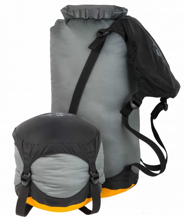 SEA TO SUMMIT DRY SACK EVENT ULTRASILICONE COMP SMALL 10L/3,3L GREY