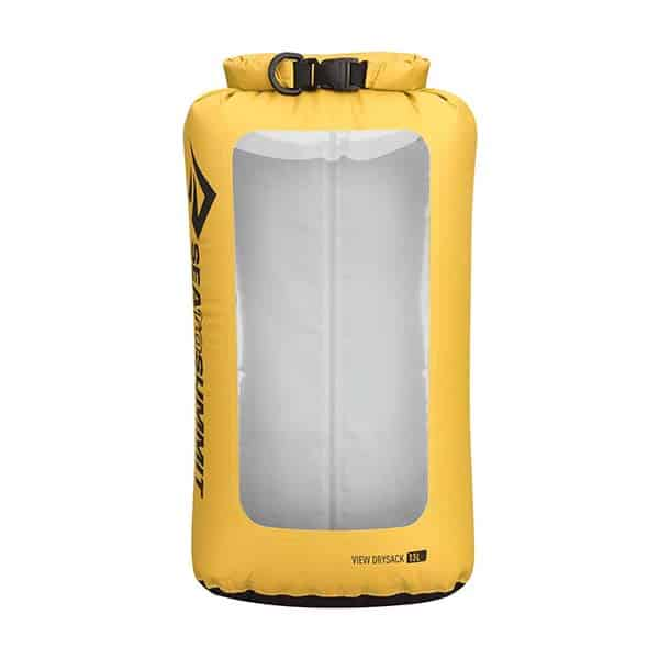SEA TO SUMMIT DRY SACK LIGHTWEIGHT VIEW 13L YELLOW