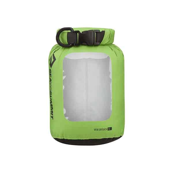 SEA TO SUMMIT DRY SACK LIGHTWEIGHT VIEW 1L APPLE GREEN