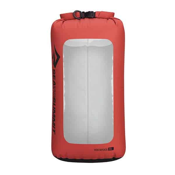 SEA TO SUMMIT DRY SACK LIGHTWEIGHT VIEW 20L RED