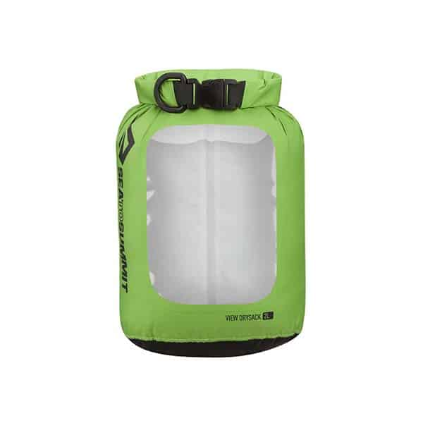 SEA TO SUMMIT DRY SACK LIGHTWEIGHT VIEW 2L APPLE GREEN