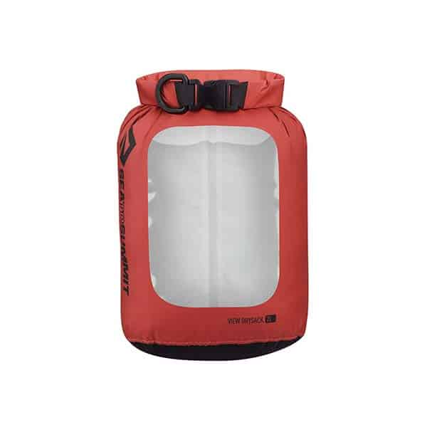 SEA TO SUMMIT DRY SACK LIGHTWEIGHT VIEW 2L RED