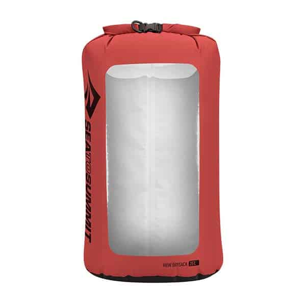SEA TO SUMMIT DRY SACK LIGHTWEIGHT VIEW 35L RED