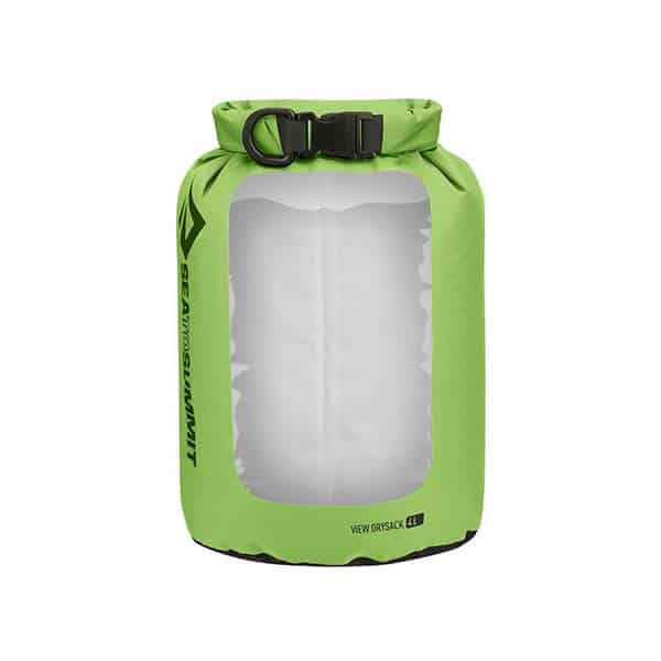 SEA TO SUMMIT DRY SACK LIGHTWEIGHT VIEW 4L APPLE GREEN