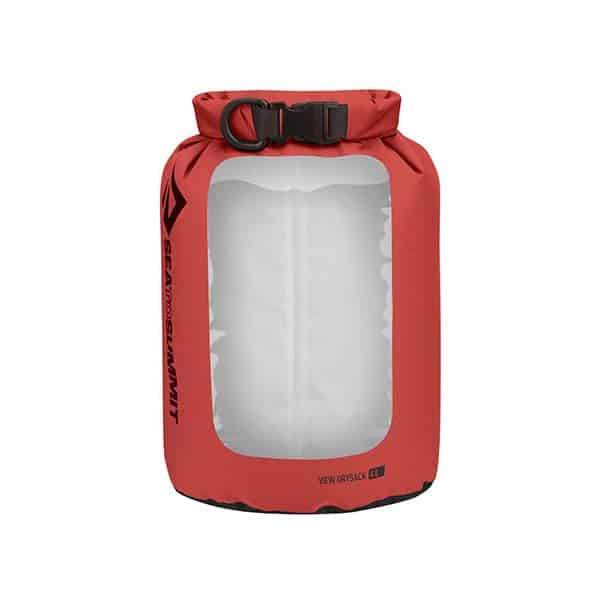 SEA TO SUMMIT DRY SACK LIGHTWEIGHT VIEW 4L RED
