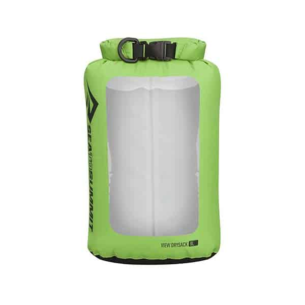 SEA TO SUMMIT DRY SACK LIGHTWEIGHT VIEW 8L APPLE GREEN