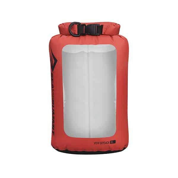 SEA TO SUMMIT DRY SACK LIGHTWEIGHT VIEW 8L RED
