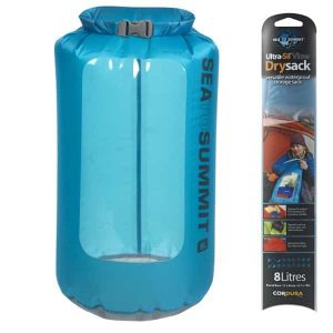 SEA TO SUMMIT DRY SACK VIEW ULTRASILICONE 35L GREEN