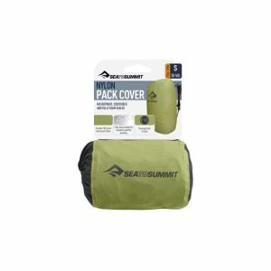 SEA TO SUMMIT PACKCOVER STANDARD SMALL 30-50L GREEN