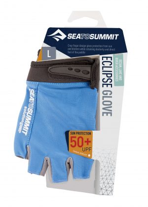SEA TO SUMMIT SOLUTION GEAR ECLIPSE GLOVE W/ VELCRO LG BLUE