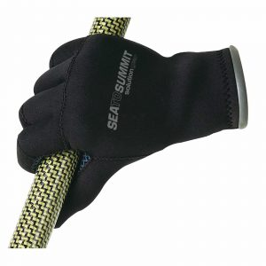 SEA TO SUMMIT SOLUTION GEAR NEOPRENE PADDLE GLOVES SMALL BLACK