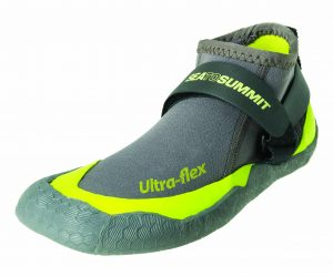 SEA TO SUMMIT SOLUTION GEAR ULTRAFLEX BOOTIES 6 SMALL GREYLIME