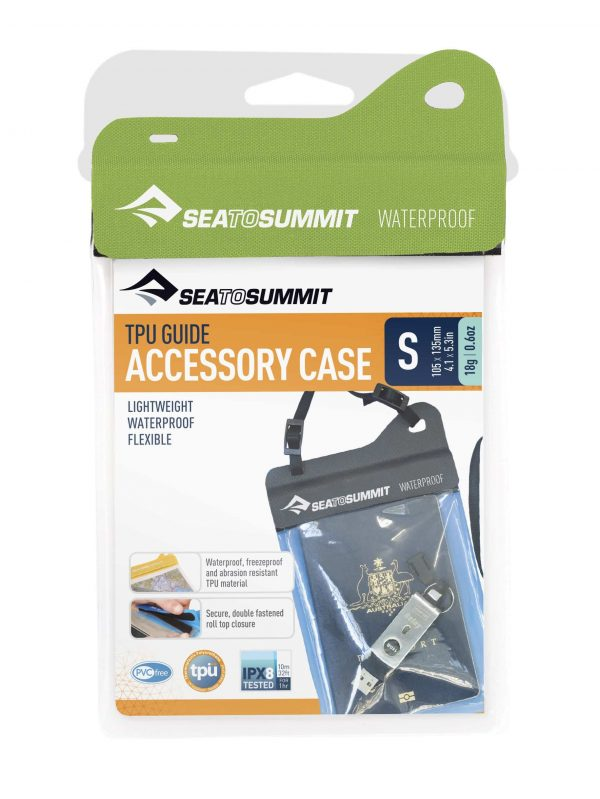 SEA TO SUMMIT TPU ACCESSORY CASE WATERPROOF SMALL LIME