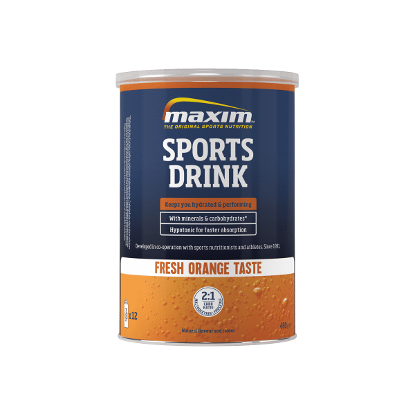 Maxim Sports Drink 480g Orange